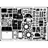 EDUARD photodecoupe avion 48265 P-26A/C Peashoper 1/48