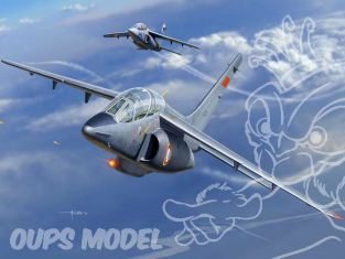 Kinetic maquette avion K48043 Alpha Jet A/E 1/48