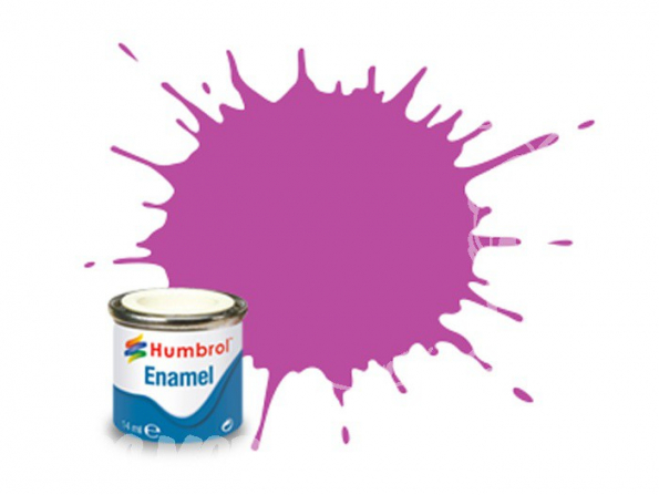 HUMBROL Peinture enamel 058 Magenta mat