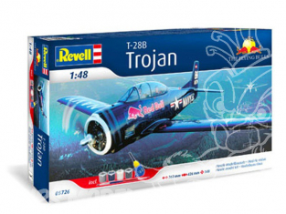 revell maquette avion 05726 Gift-Set T-28 Trojan couleurs red Bulls 1/48