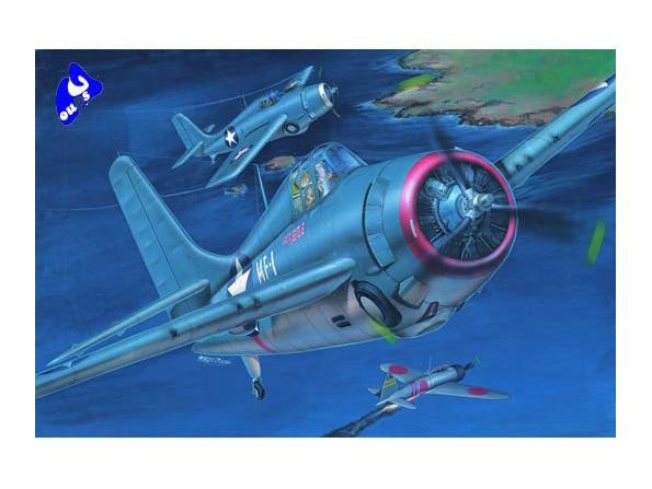 """Trumpeter maquette avion 02225 Grumman F4F-3 """"Wilcat"""" 1/32"""