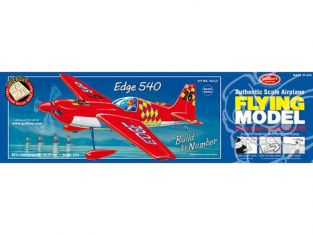 Maquette Guillow's avion bois 703 Zivko Edge 540 1/14