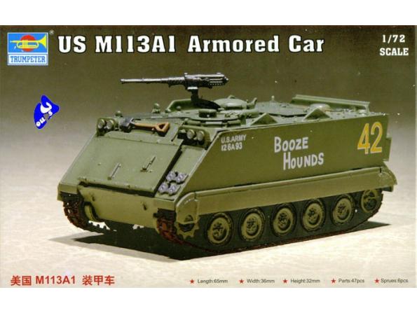 trumpeter maquette militaire 07238 US M 113A1 1/72