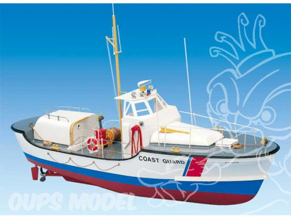 BILLING BOATS Kit bateau bois 100 US COAST GUARD 1/40