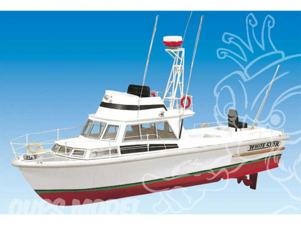 BILLING BOATS Kit bateau bois 570 WHITE STAR 1/15