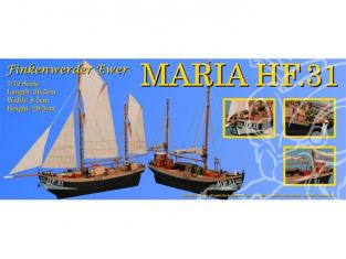 Dusek Kit bateau bois d016 MARIA HF31 1/72
