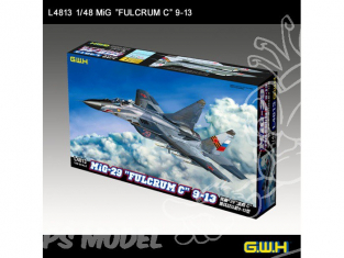 """Great Wal Hobby maquette avion L4813 MIG-29 9-13 """"FULCRUM"""" C 1.48"""