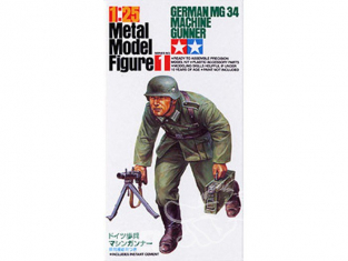 Tamiya maquette militaire 89624 Mitrailleur MG34 1/25