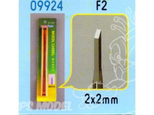 Trumpeter outillage bateau bois 09924 CISEAUX A BOIS POUR MODELISME - F2 (2X2mm)