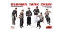 Mini art maquette militaire 35167 EQUIPAGE DE CHARS ALLEMANDS 1/35