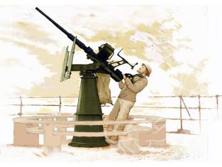 UM maquettes militaire 651/002 OERLIKON Mk. IIIA 20mm/70 AA CANON ANTI-AÉRIEN 1/72