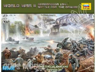 ZVEZDA war game 6177 World war II Barbarossa 1941 bataille pour le danube extension set