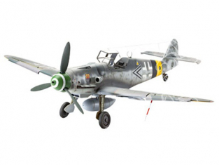 revell maquette avion 04665 Messerschmitt Bf109 G-6 Late & early version  1/32