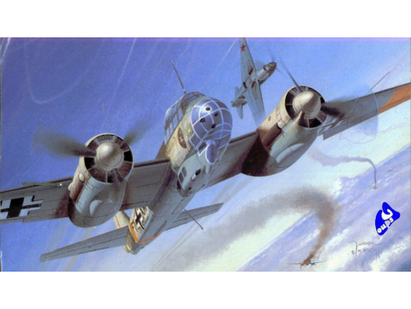 Dragon maquette avion 5536 Ju88C-6 1/48