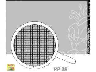 Aber PP09 plaque gravée (88 x 57mm) motif 09