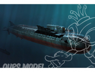 HOBBY BOSS maquette sous marin 83521 Russian Navy SSGN Oscar II Class Kursk Cruise Missile 1/350