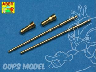Aber A24003 set de 2 futs de 20mm MG 151/20 1/24