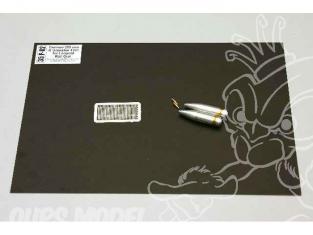 Aber 35p02 2 Set ogives 280mm R 4331 pour Leopold 1/35