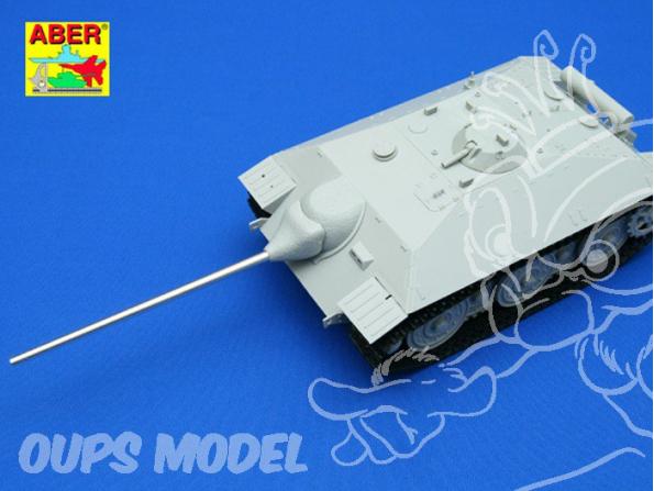 Aber 35L79 Fut de canon 75mm Pak 42 L/70 pour Jagdpanzer.IV ou E25 1/35