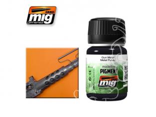 MIG pigments 3009 Gun métal AK-086