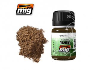 MIG pigments 3007 terre foncée AK-081