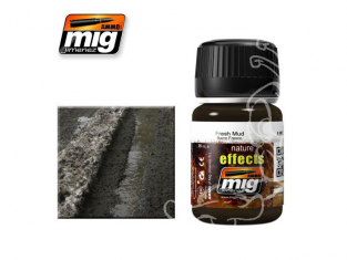 MIG salir vos maquette 1402 effets de la nature boue fraiche (35ml) AK-016