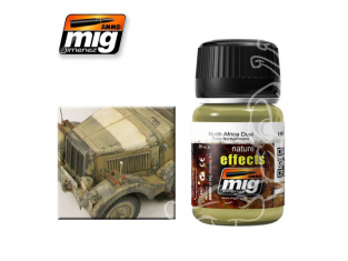 MIG salir vos maquette 1404 effets de la nature poussière Afrique du nord (35ml) AK022