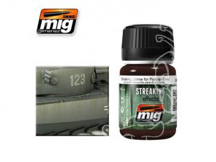 MIG vieillissement maquette 1202 STREAKING saleté gris pour panzer (35ml) AK-069