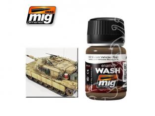 MIG approchez de tres près la réalité 1007 Lavis pour véhicules militaire moderne US (35ml) AK-121