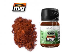 MIG pigments 3005 Rouille moyenne AK-043