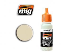 MIG peinture authentique 037 Boue sèche claire (AK-724)