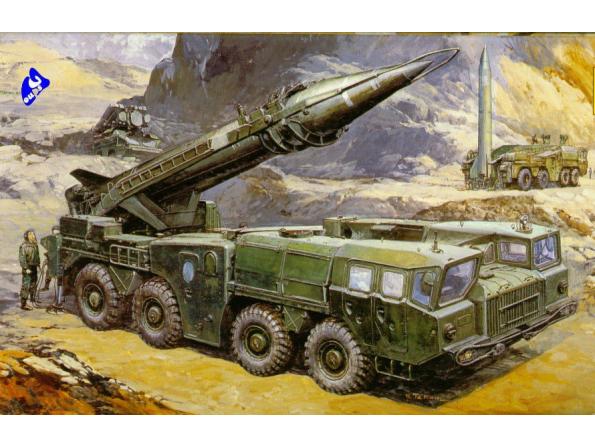 Dragon maquette militaire 3520 SS-1C Scud B 1/35