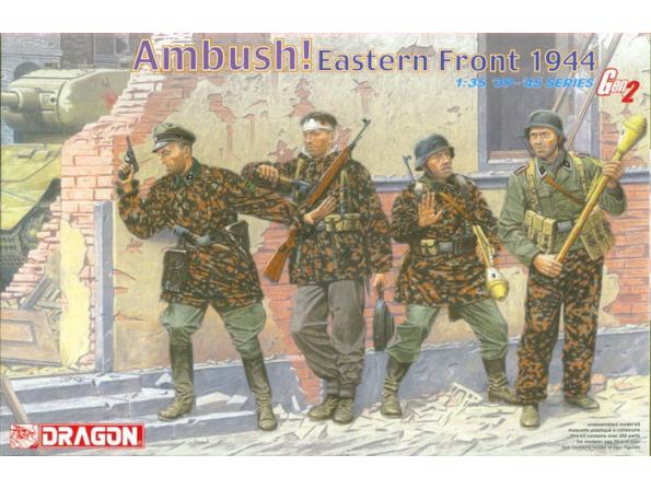 Dragon maquette militaire 6333 Embuscade Front Est 1/35
