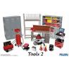 fujimi maquette voiture 113715 Outils de garage Set 2 1/24
