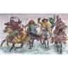Italeri maquette historique 6864 Mongols 1/32