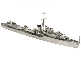 revell maquette bateau 65120 Model set H.M.S. KELLY (H.M.S. KIPLING) 1/700