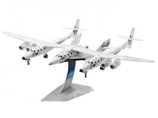 REVELL espace et avion 64842 model set Space Ship Two & Carrier White K 1/144