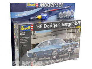 REVELL maquette voiture 67188 Model set Dodge Charger R/T 1/25
