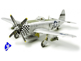 tamiya maquette avion 60770 Republic P-47D Thunderbolt Bubbletop 1/72