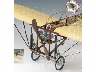 Amati Kit avion bois 1712/01 Blériot XI 1/10