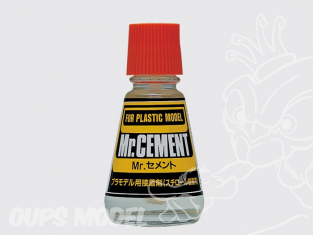 Mr Hobby mc124 Colle Maquette Pinceau Mr Cement 25ml
