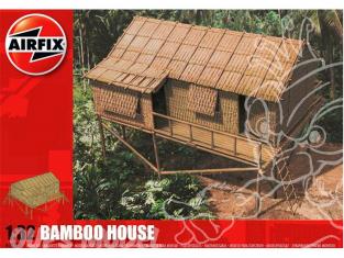 Airfix maquette militaire 06382 Maison de bambou 1/32