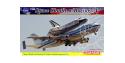 Dragon maquette avion 14705 Space Shuttle avec Boeing 747 et Socle 1/144