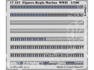 Eduard photodecoupe bateau 17527 Figurines Regia Marina WWII 1/700