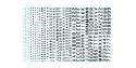 Decalques Berna decals BD-03 Chiffres et lettres identification noir type 45 1-2-3-4-6mm