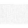 Decalques Berna decals BD-13 Chiffres et lettres identification blanc type 45 10-12-14mm