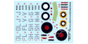 Decalques Berna decals BD72-34 FREE FRENCH ON SPITFIRE 1/72