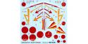 Decalques Berna decals BD72-38 NAKJIMA Ki-43-I OSCAR HAYABUSA 1/72