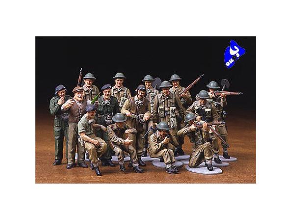 tamiya maquette militaire 32526 Infanterie Britanique 1/48
