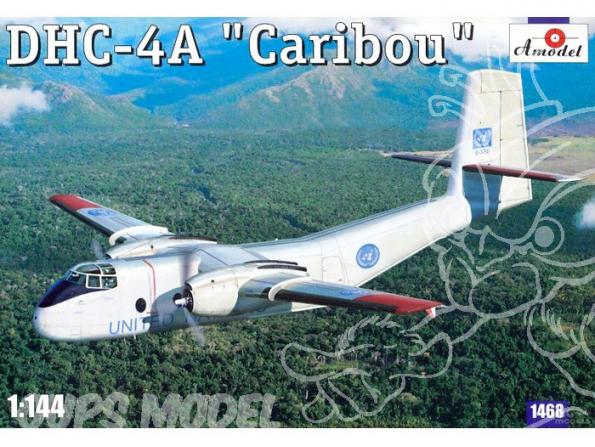 Amodel maquettes avion 1468 DHC-4A CARIBOU 1/144